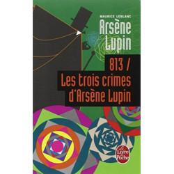 813 les trois crimes...