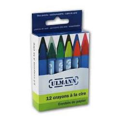 12 crayons à la cire - Ulmann