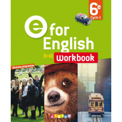 E for English 6 ° : Work- book