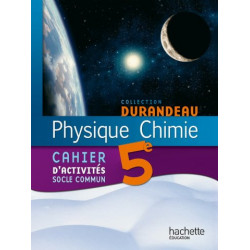 Physique Chimie 5e - Cahier...