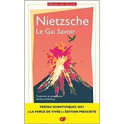 Le Gai Savoir, Nietzsche -...