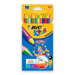 12 crayons de couleurs...
